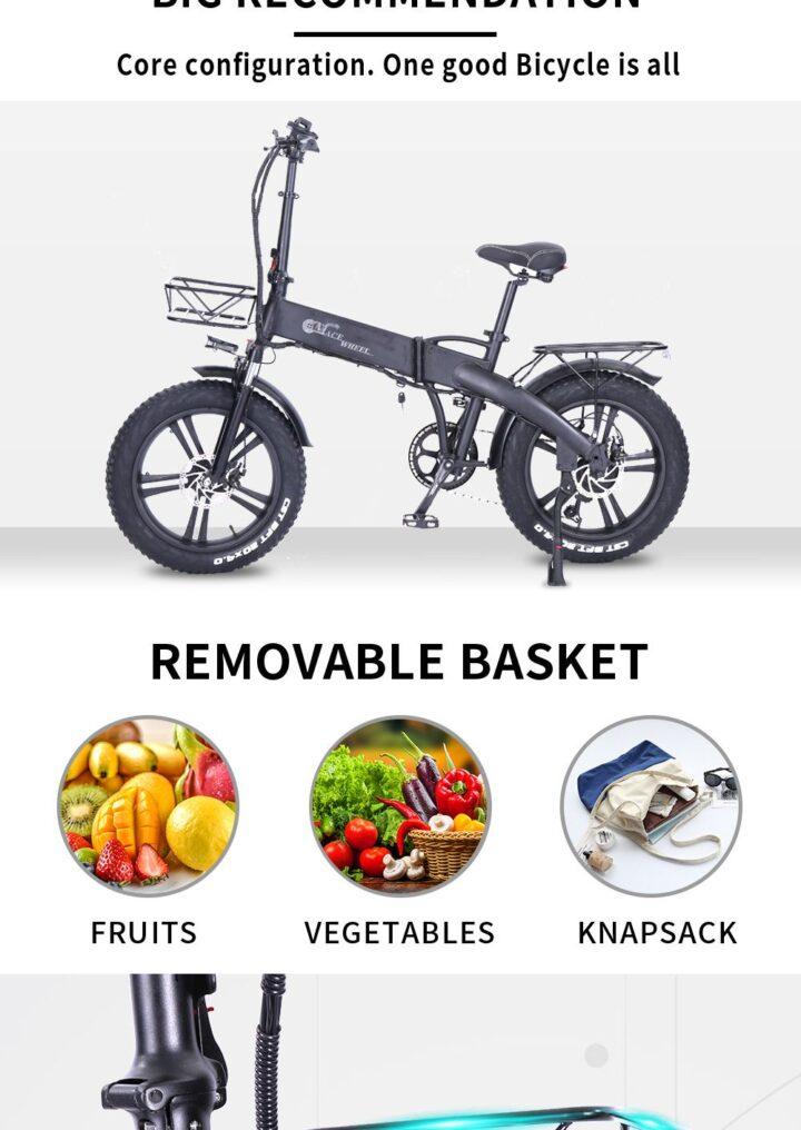 Offerta-CMACEWHEEL-GT20-Pro-6-720x1016 Offerta CMACEWHEEL GT20 Pro a 984€, Fat Bike Elettrica Potente ed Economica