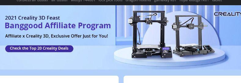 Offerta-Stampante-3D-Creality-3D Le migliori stampanti 3D del 2021: stampare in 3D con la migliore Stampante 3D