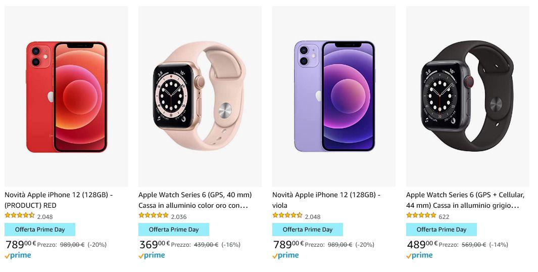 Le offerte Prime Day 2021: iPhone 12 e iPhone 12 mini super economici