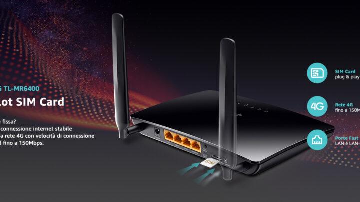 Migliori Router 4G LTE: alternative alla Rete Fissa Fibra