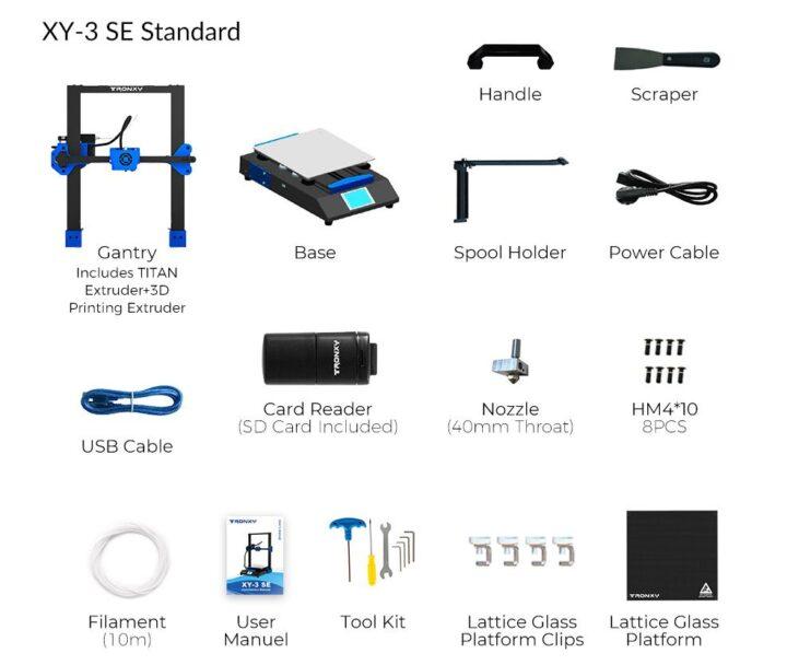 Offerta-Tronxy-XY-3-SE-a-316-2-720x608 Offerta Tronxy XY-3 SE a 316€:  stampante 3D + incisore! Novità 2021