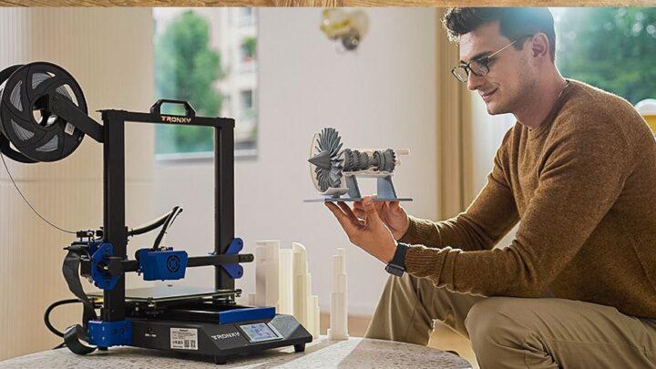 Offerta Tronxy XY-3 SE a 316€:  stampante 3D + incisore! Novità 2021