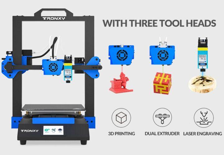 Offerta-Tronxy-XY-3-SE-a-316-5-720x498 Offerta Tronxy XY-3 SE a 316€:  stampante 3D + incisore! Novità 2021