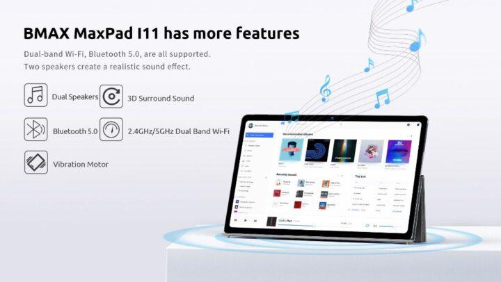 Offerta-BMAX-MaxPad-i11-1-720x406 Offerta BMAX MaxPad i11 a 151€, Tablet Cinese 2021 Octa Core 8GB RAM