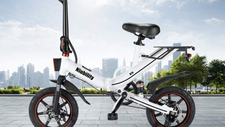Offerta Niubility B14 a 531€, Mini Bici Elettrica più potente da 15 Ah