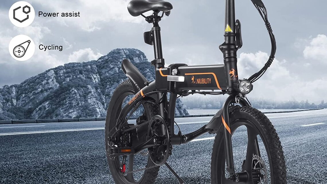 Offerta Niubility B20 a 634€, E-Bike Pieghevole 2021 da 42V