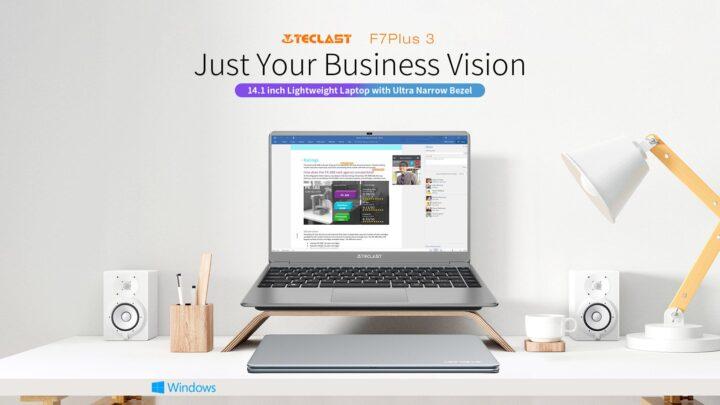 Offerta Teclast F7 Plus 3 a 339€: Nuova Generazione Notebook Cinese 2021