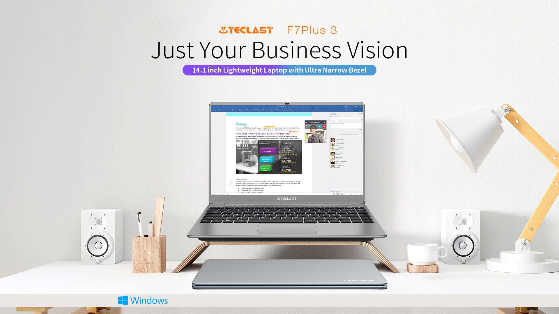 Offerta-Teclast-F7-Plus-3-5 Recensione completa KUU Xbook, ultrabook cinese 2020