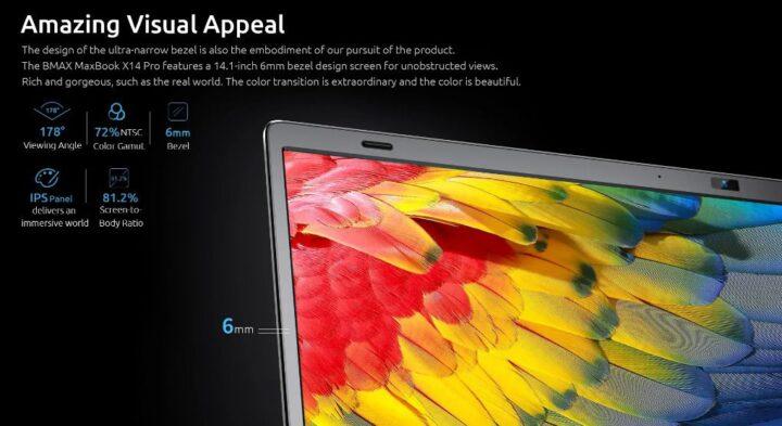offerta-BMAX-X14-Pro-5-720x393 Offerta BMAX X14 Pro a 427€, Ultrabook Cinese con AMD Ryzen R5-3450U